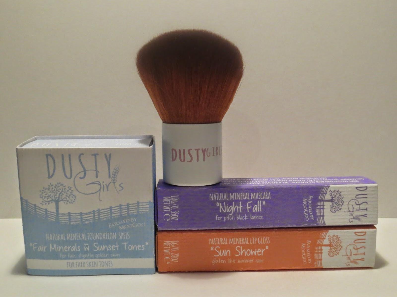 nail polish dusty girls natural mineral makeup review. Black Bedroom Furniture Sets. Home Design Ideas