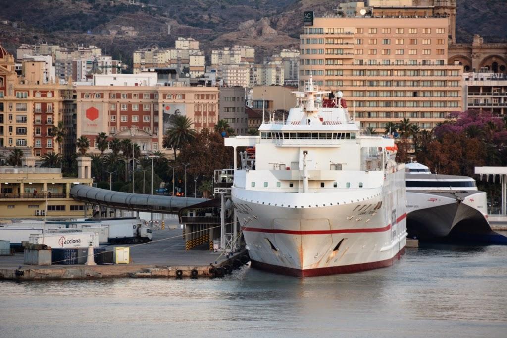 Port of Malaga Ferry