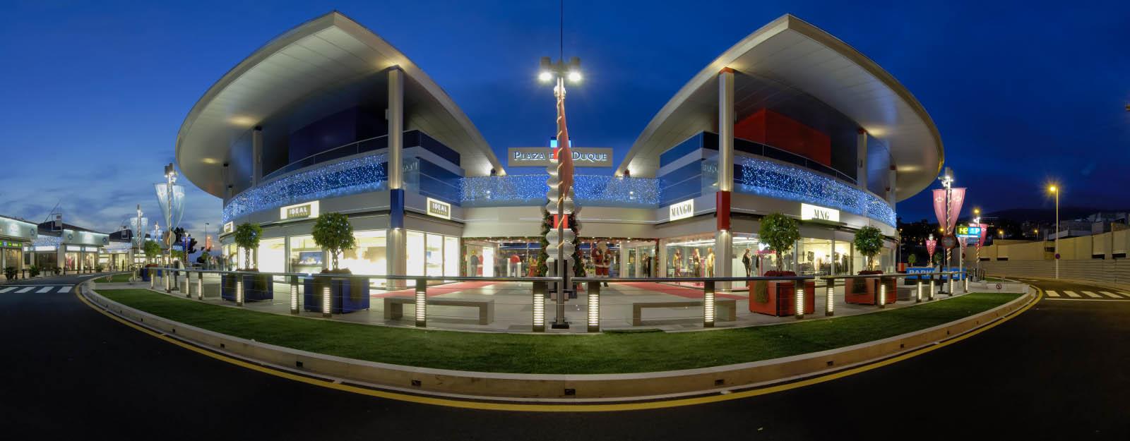 Plaza del duque sobre el centro - Centro comercial del mueble tenerife ...