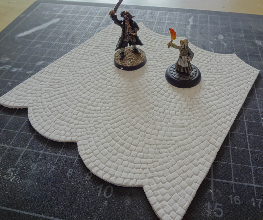 cianty's tabletop wargames blog: cobblestone streets & stonework by