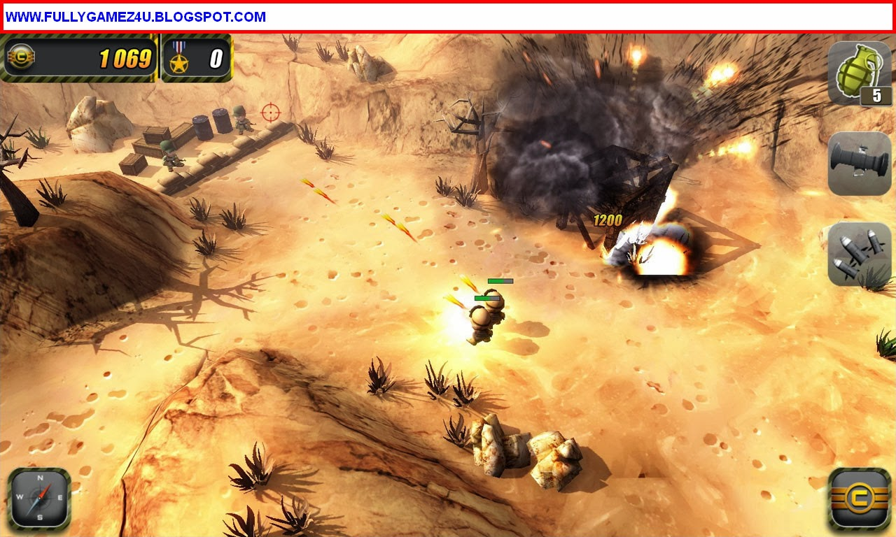Download Tiny Troopers Game For Pc Full Version 100% Working Link