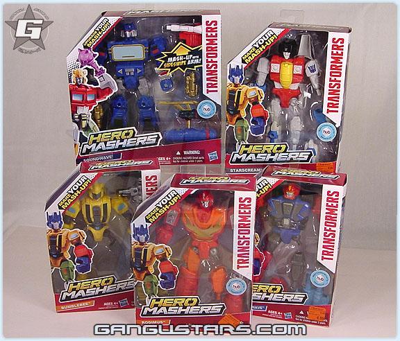 トランスフォーマー ロディマス コンボイ Transformers Hero Mashers Soundwave Springer スタースクリーム Starscream バンブル Hasbro