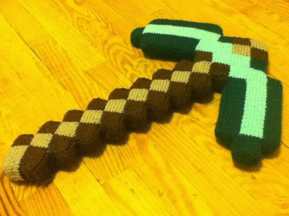 Free Crochet Patterns For Minecraft : Yes I Knit