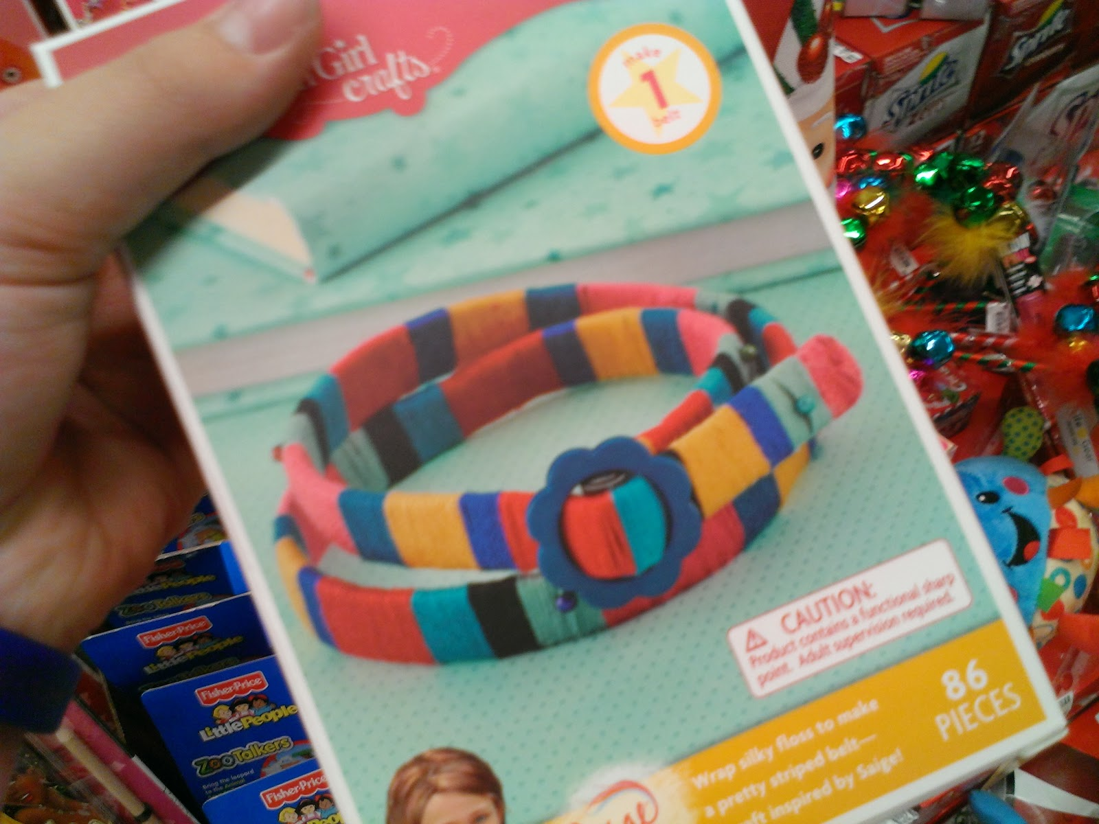 i love doing crafts so i hope i get some of these for christmas be on the look out for american girl stuff every where and any where - Girl Stuff For Christmas