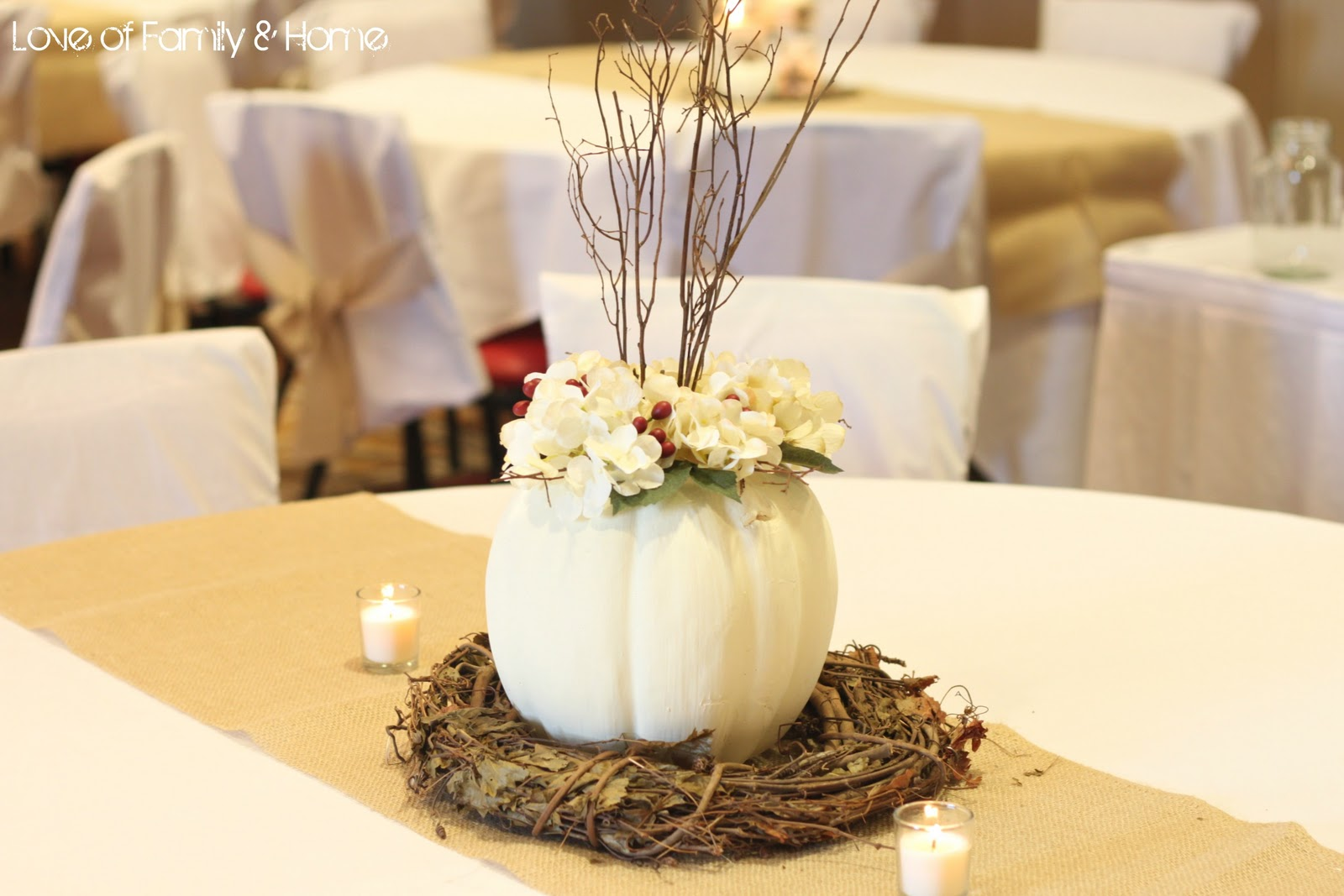 Do It Yourself Weddings: Rustic White Featuring Fall/Winter Looks