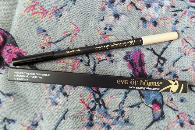 The Libbie Club January Box Featuring Eye Of Horus Sahara Nude Goddess Pencil