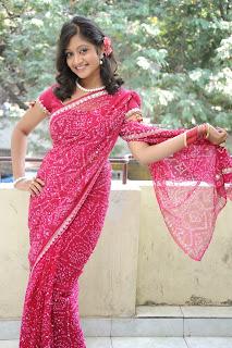 Sandeepthi pink saree Pictures 035.jpg