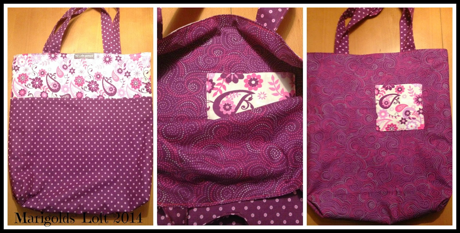 Reversible tote Craftsy