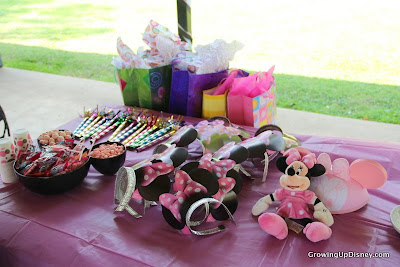 Minnie Mouse birthday party