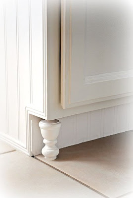 DIY Furniture Feet For Cabinets - Addicted 2 Decorating®