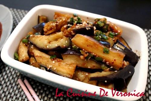 La Cuisine De Veronica 韓國涼拌茄子 Gaji-namul