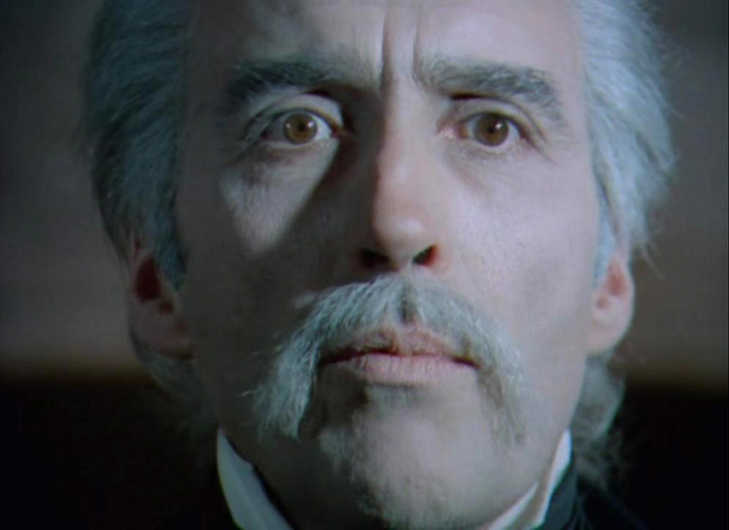 jess franco s count dracula his is studd christopher lee as an old but still scary dracula in count dracula 1969