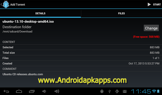 Free Download aTorrent PRO Torrent App v2.1.5.3 Full Apk