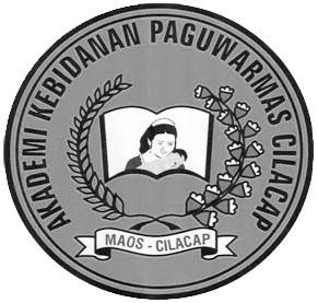Logo Akademi Kebidanan Paguwarmas (hitam putih)