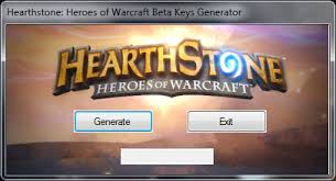 HEARTHSTONE BETA KEY GENERATOR