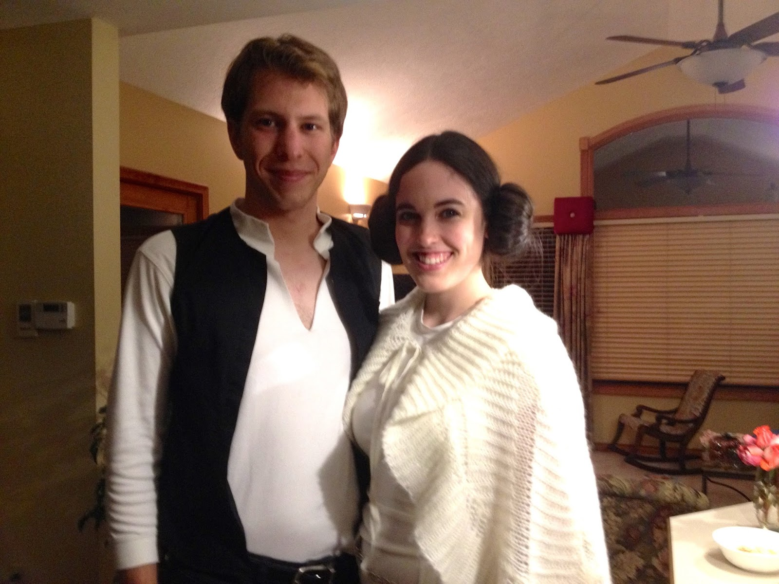 DIY Han and Leia Organa Solo