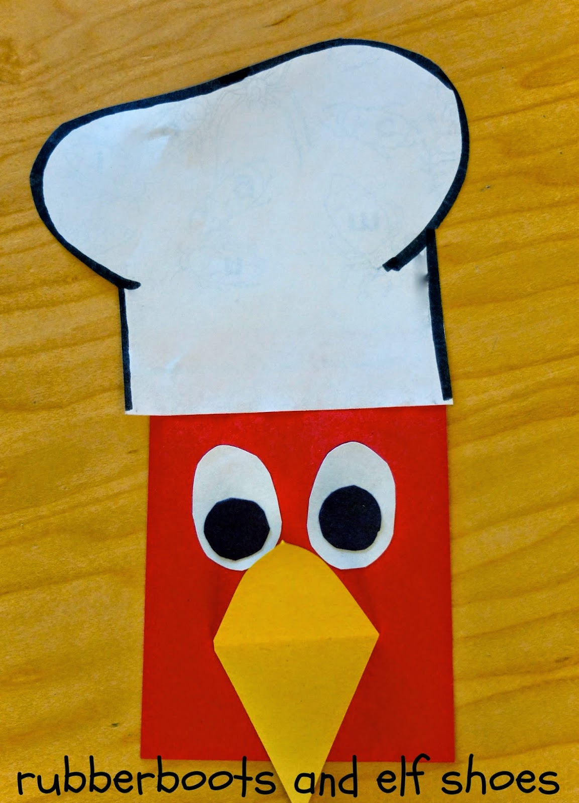 the little red hen make a pizza read create and write rubber