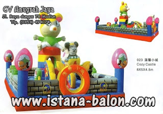 Istana Balon Cozy Castle 8x5