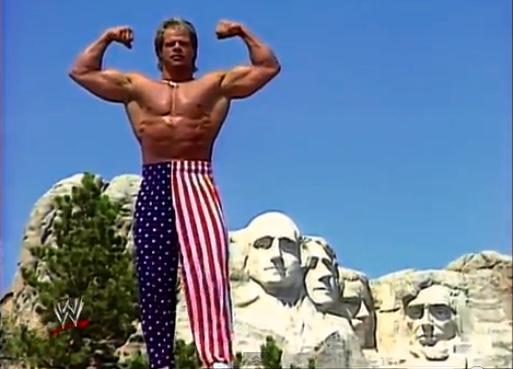 America Patriotism Lex Luger Failure