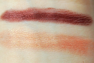MAC Beth Ditto Shade and Smoke Shadow/Liner in Beth Mask Swatches