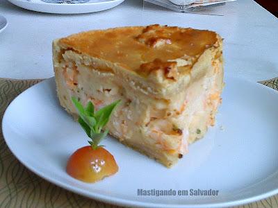 Troppo Spazio Gourmet: Torta de Camarão