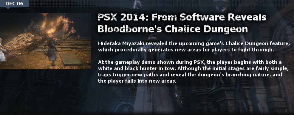 Bloodborne News