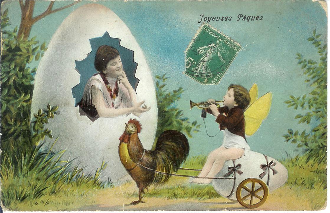 TWENTY BIZARRE OLD EASTER CARDS Popthomology