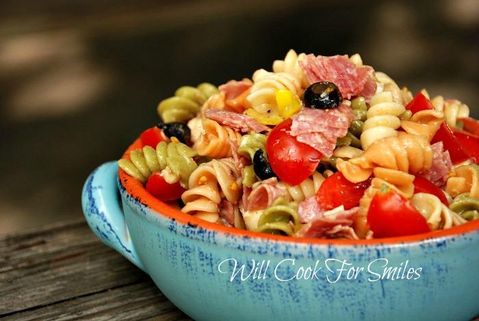 Recipe for antipasto pasta salad
