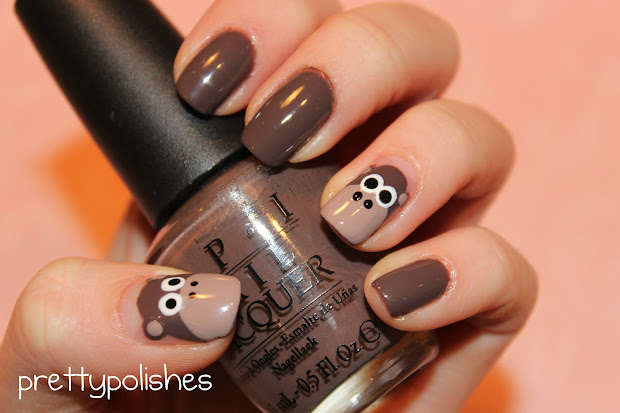 prettypolishes monkey nails