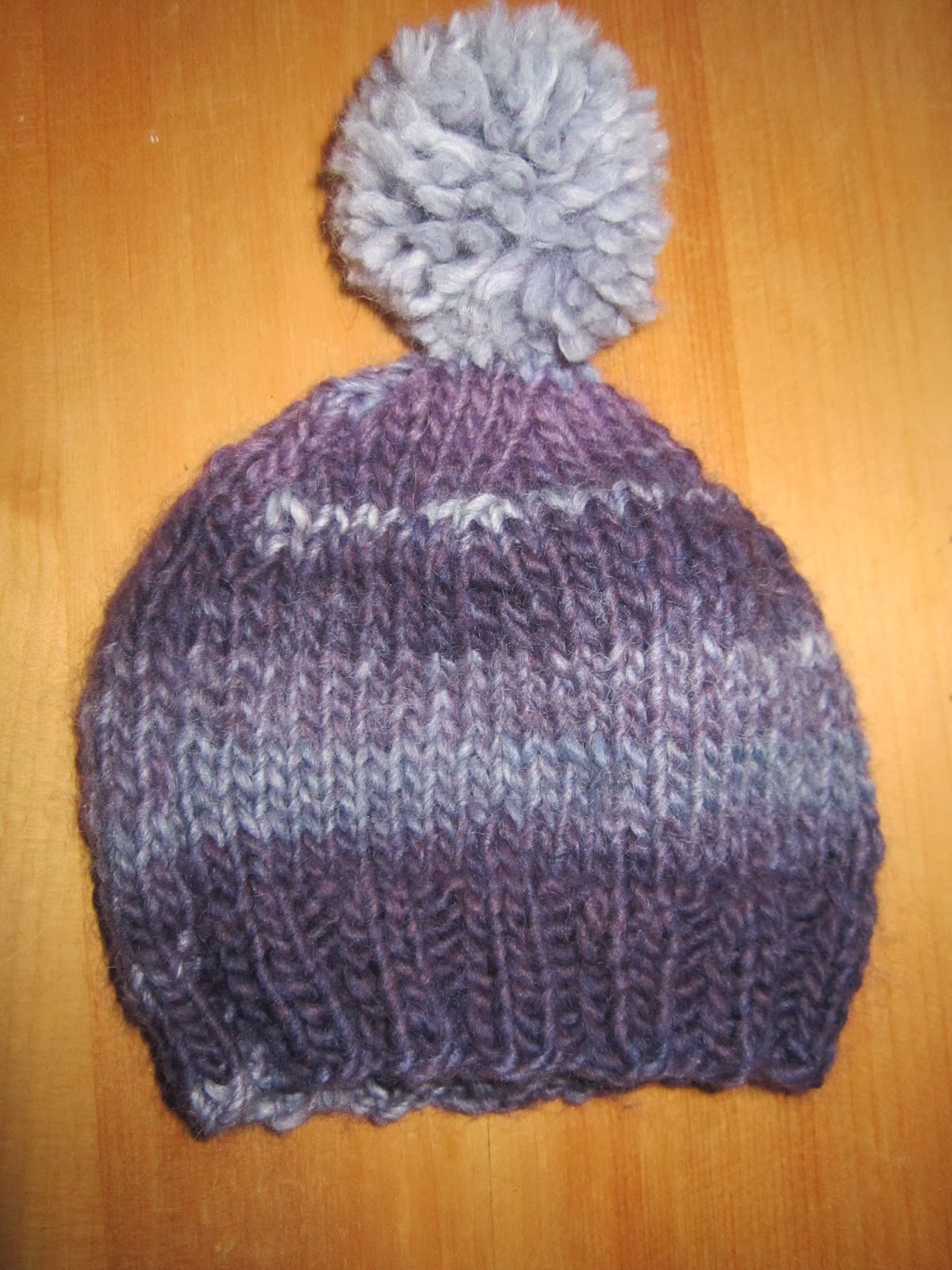 Jolly Day Dreaming........: Knitting a hat for a newborn ...