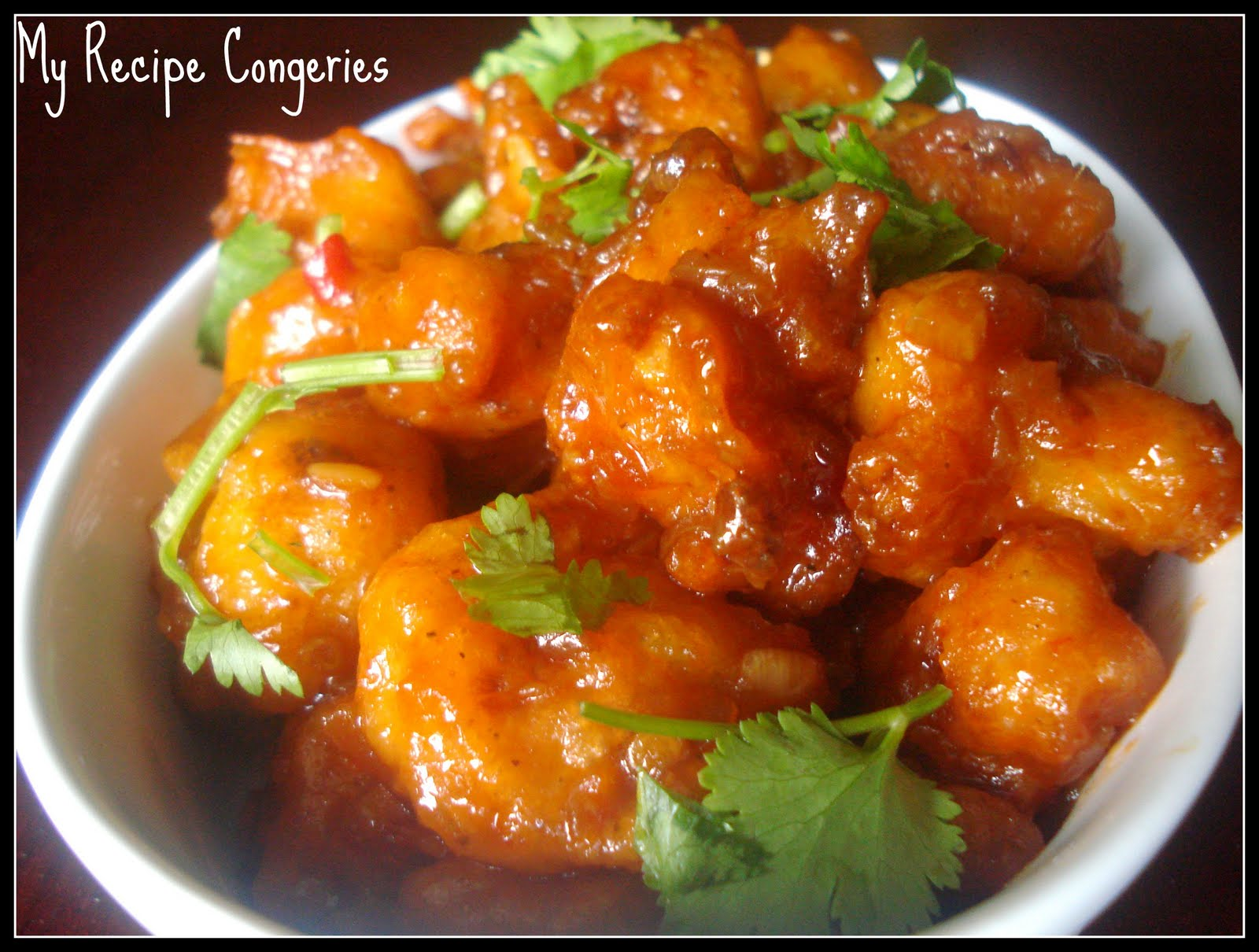 My Recipe Congeries: Gobi Manchurian