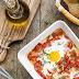 Jajka zapiekane z pomidorami i papryką