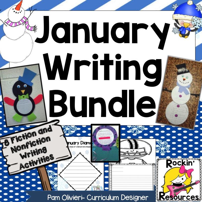 January Writing Fun!