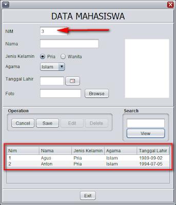 Java Programming: Cara membuat Kode Otomatis