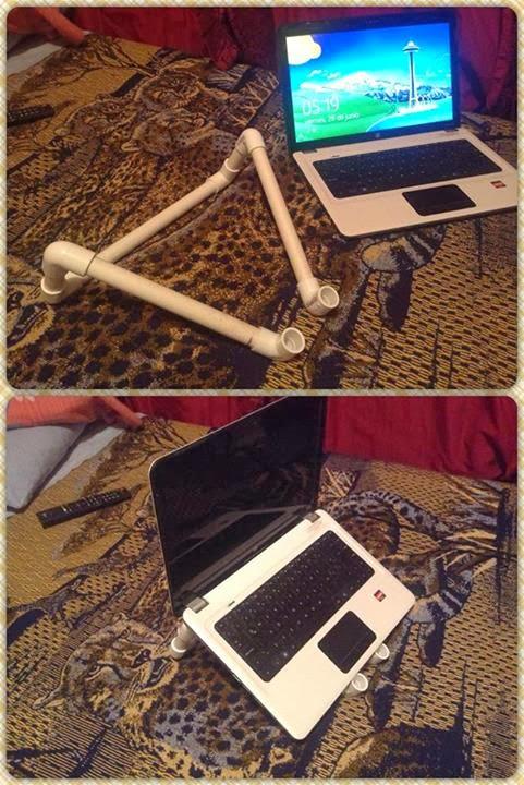 Como hacer un sencillo soporte para laptop