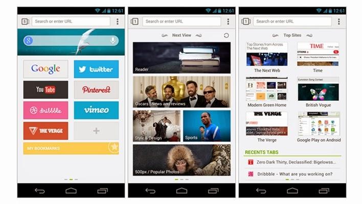 Browser Paling Hemat Baterai Untuk Android