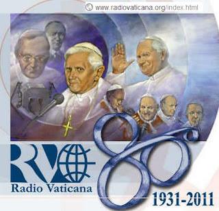 Ciudad del vaticano: La Radio Vaticana cumple 80 años logo
