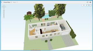 Proiectează-ţi casa online - Floorplanner - proiect elaborat
