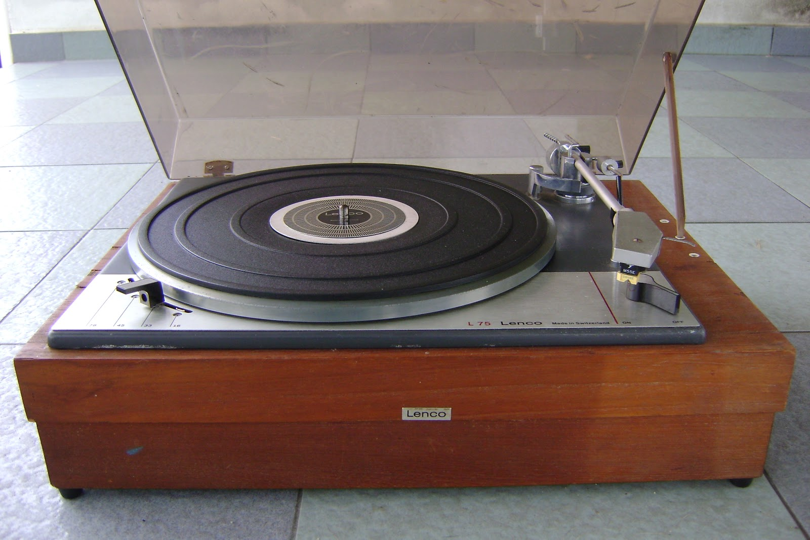 Lenco L75 Turntable Used Sold