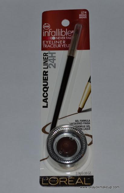 loreal gel liner