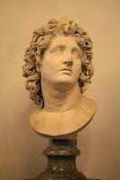 Busto de Alejandro Magno como Helios. Museos Capitolinos, Roma.