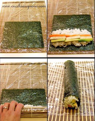 aprenda a fazer sushi