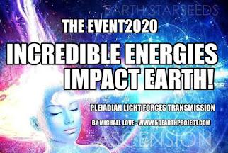 MICHAEL LOVE: *** DAS EVENT - UNGLAUBLICHE ENERGIEN TREFFEN AUF DIE ERDE! ***