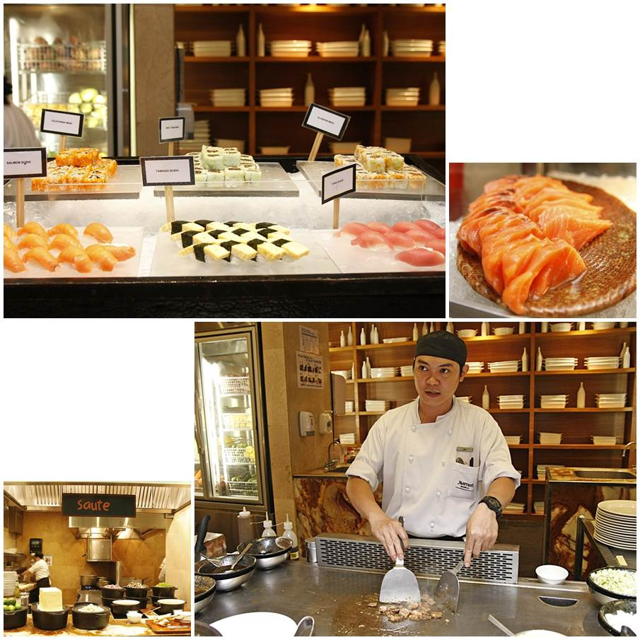 Marriott Café's Ocean's Harvest Buffet