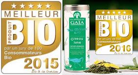 Jury du meilleur produit BIO 2015 puis 2016