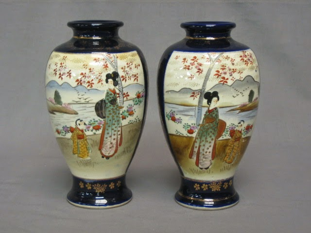 Antiques Of Asia How To Identify Antique Japanese Vases