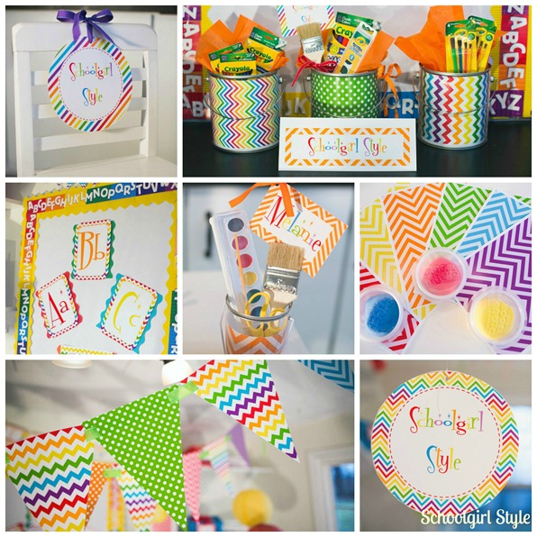 Classroom Rainbow Ideas : First grade and flip flops it s a linky party classroom