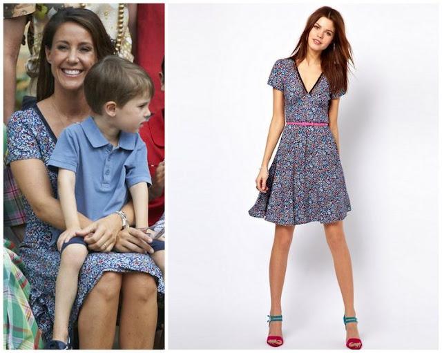 Princess Marie and Warehouse Dress