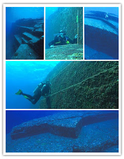 The Ruins Under Sea in Japan