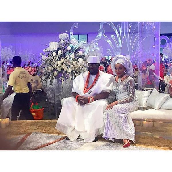 Photos from Dolapo Oni and Adegbite Sijuwade's traditional wedding ceremony.